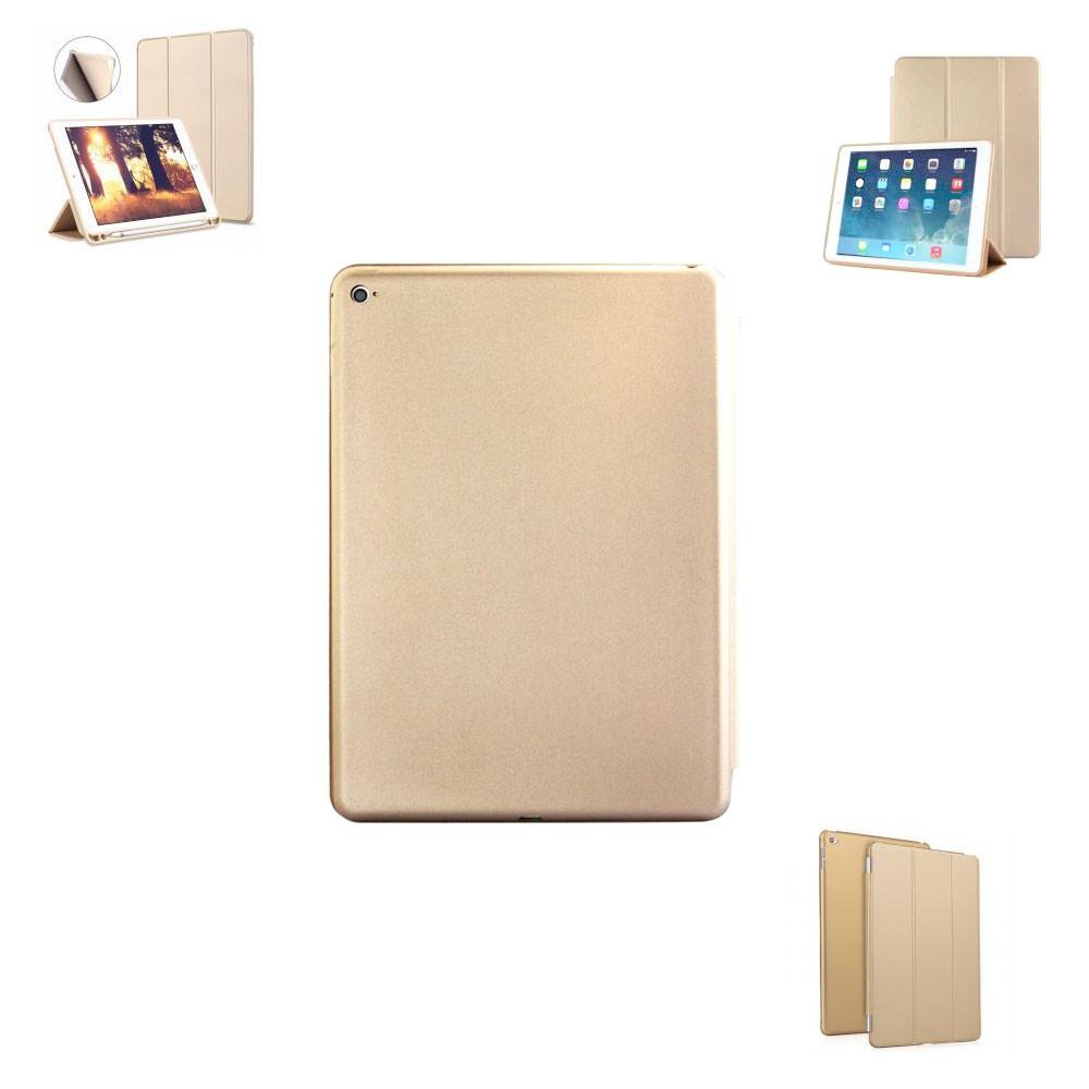 Capa Tablet Ipad Pro 10.5 Hmaston Case Magnética Smart Cover Traseira Dourada