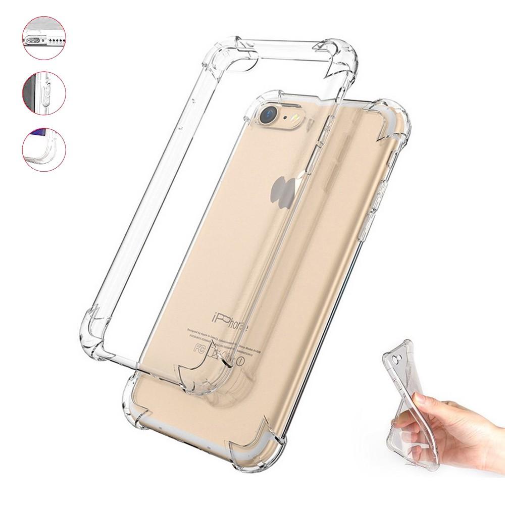 Capa Transparente Air Anti Impacto Iphone 7 E 8 4.7 Antichoque Tpu Silicone