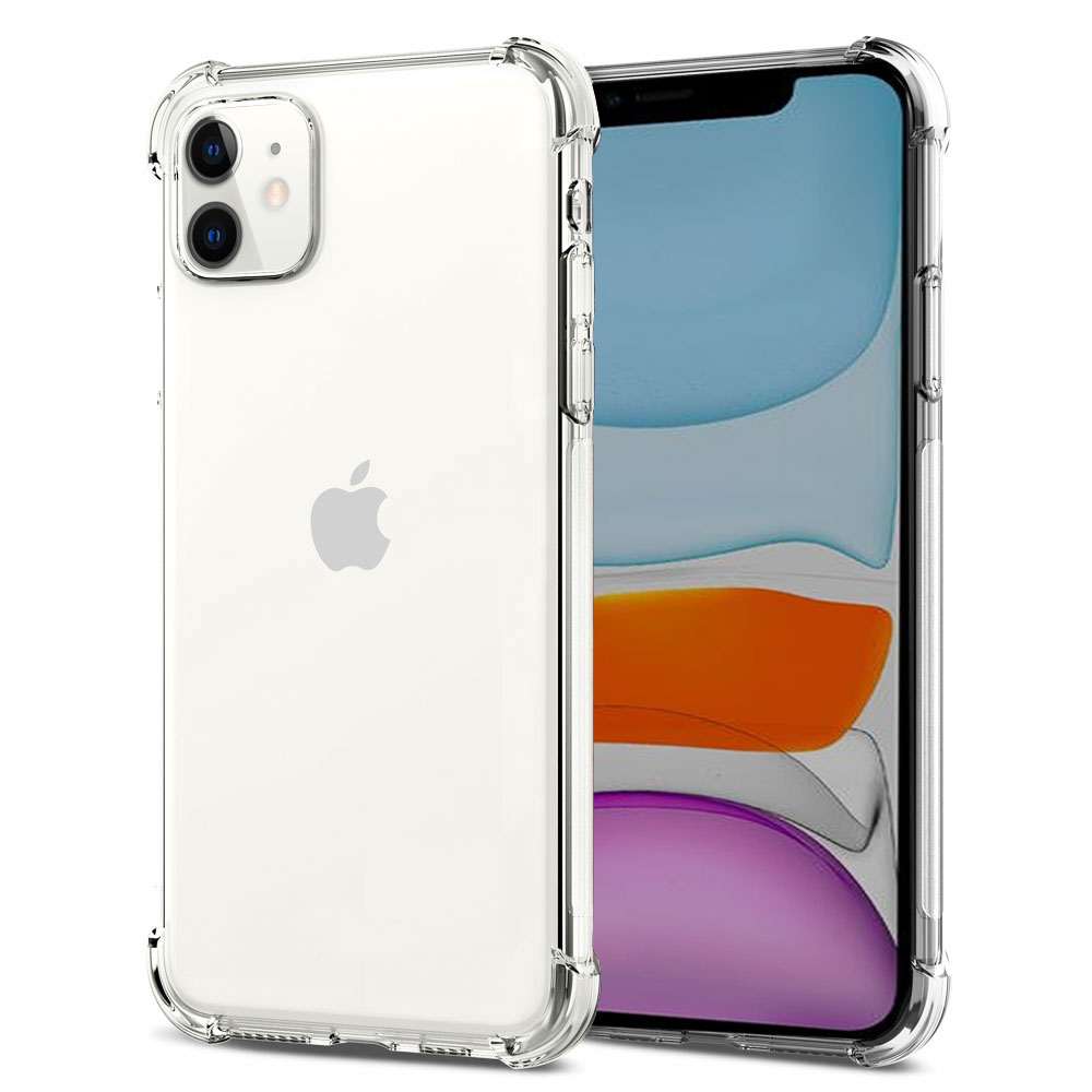 Capa Transparente Air Anti Impacto Para iPhone 11 6.1 Antichoque TPU Silicone