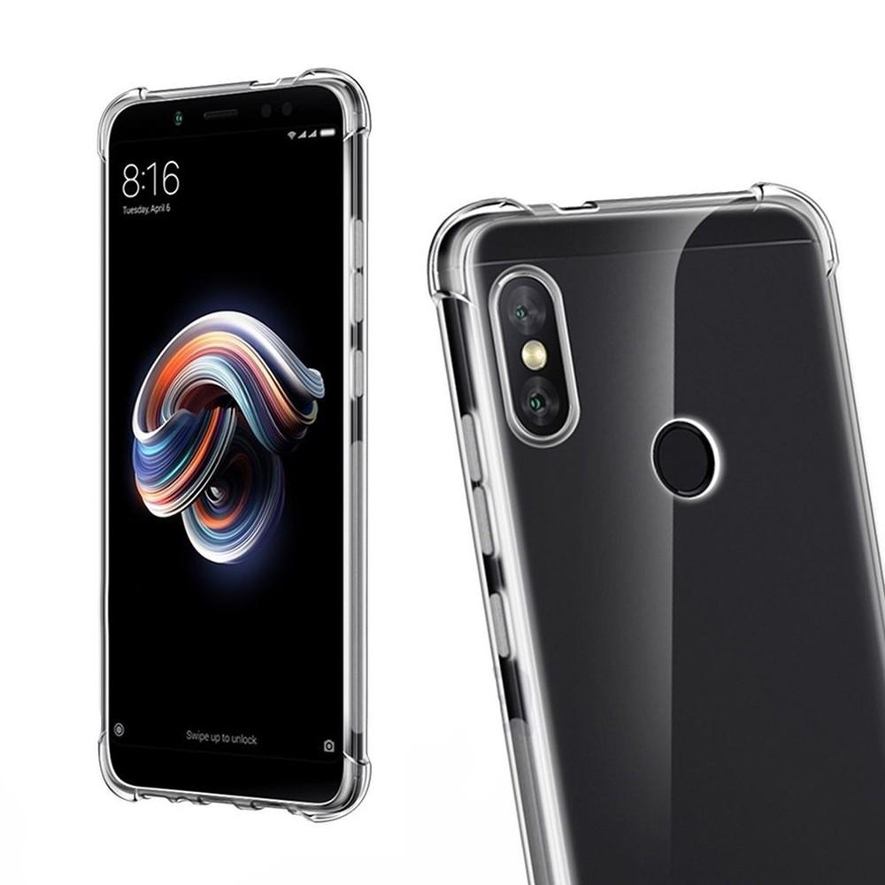 Capa Transparente Air Anti Impacto Xiaomi Mi A2 Lite Antichoque TPU Silicone