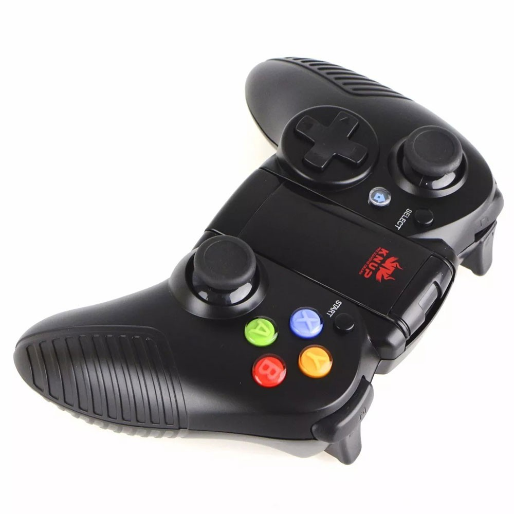 Controle Manete Joystick Wireless Bluetooth Kp-4030 Knup Celular Android Ios Pc