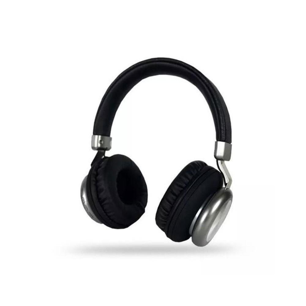 Fone de Ouvido Bluetooth 5.0 KP-452 Knup Com Microfone Rádio FM Micro SD MP3 Recarregável Preto