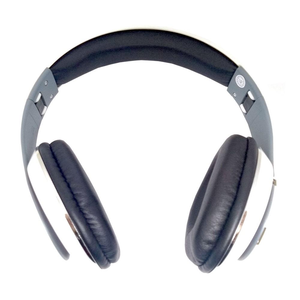 Fone de Ouvido Bluetooth KP-415 Knup Com Microfone Rádio FM Micro SD MP3 Recarregável Branco