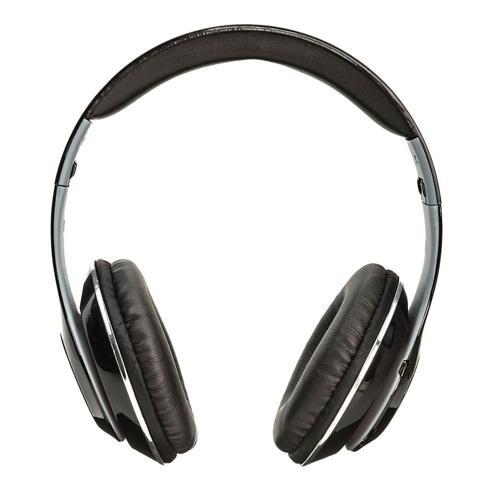 Fone de Ouvido Bluetooth KP-415 Knup Com Microfone Rádio FM Micro SD MP3 Recarregável Preto