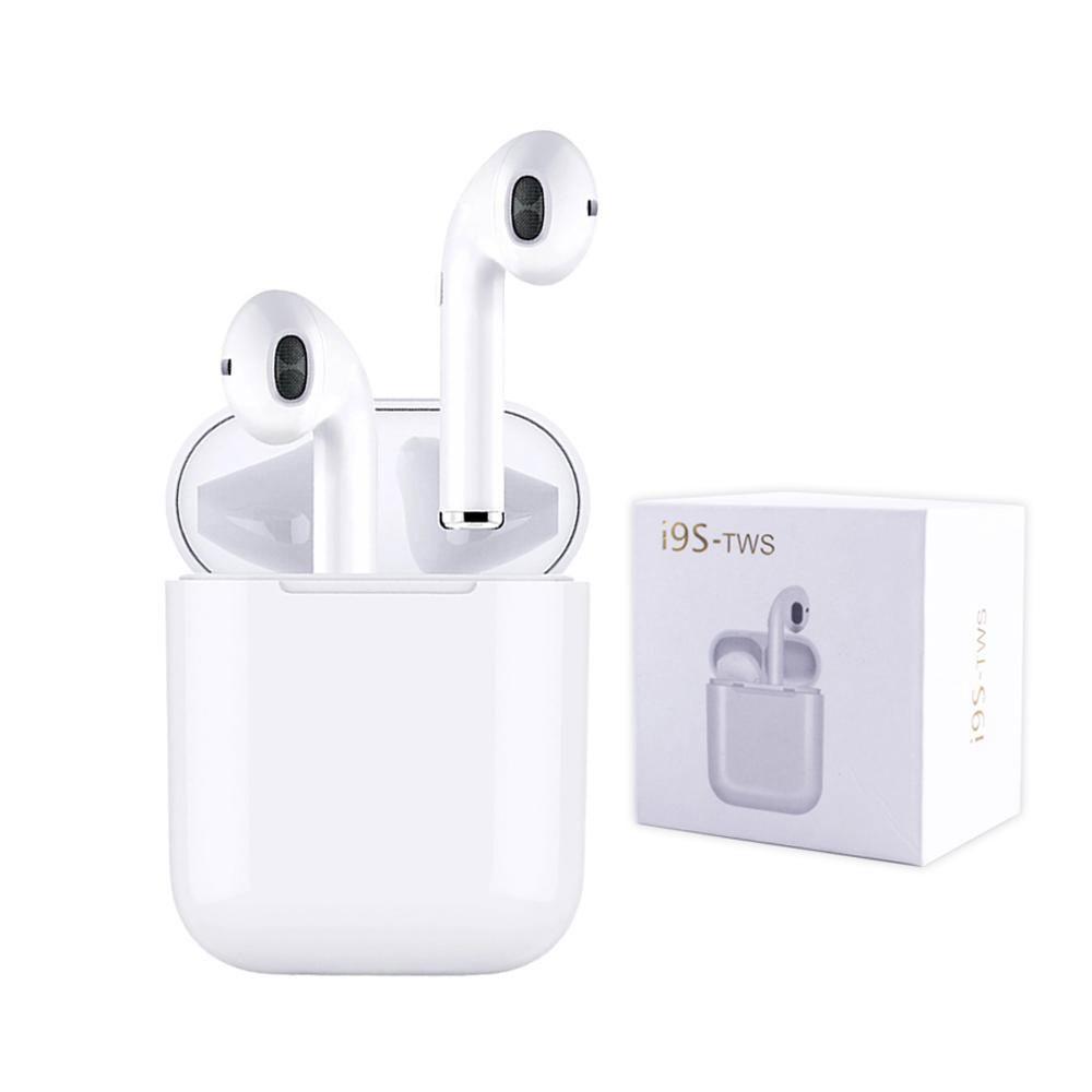 Fone de Ouvido Sem Fio Bluetooth 5.0 I9s Tws Stereo iOS Android Celular Smartphone