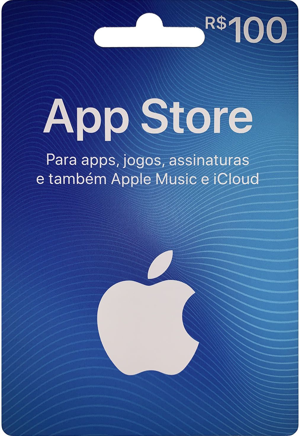 Gift Card Digital App Store R$100