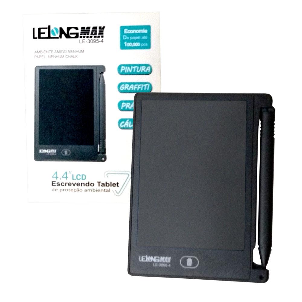 Lousa Mágica 4,4 Polegadas LCD Max Le-3095-4 Lelong Escrever Desenhar
