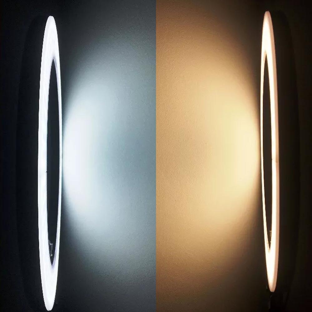 Luz Iluminador Ring Light 6 Polegadas 36 Led Usb Misto Mesa