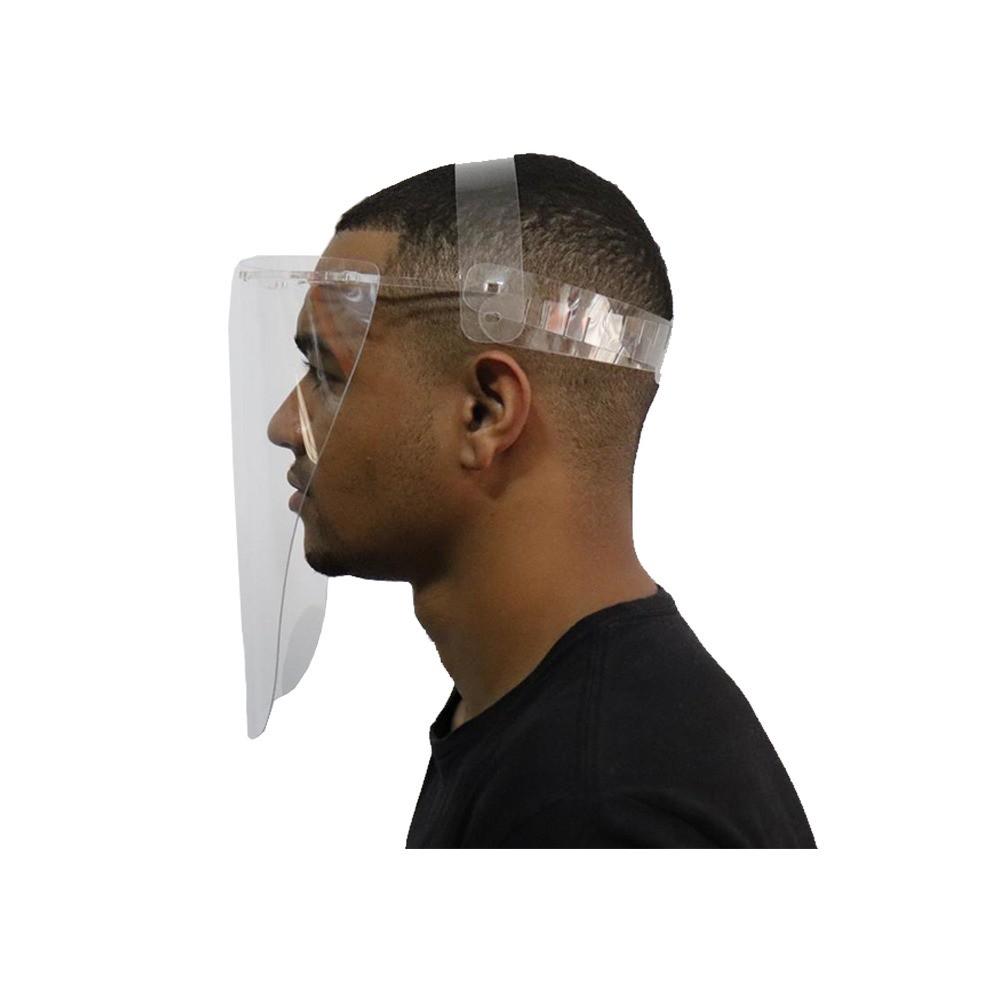Máscara Acrílico Viseira Protetor Facial Face Shield Profissional