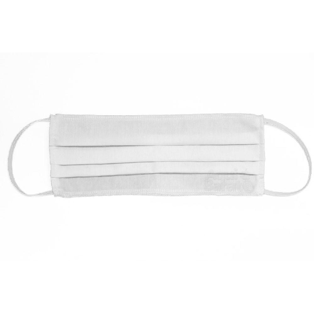 Máscara Algodão Kit 100 Unidades Lavável Reutilizável