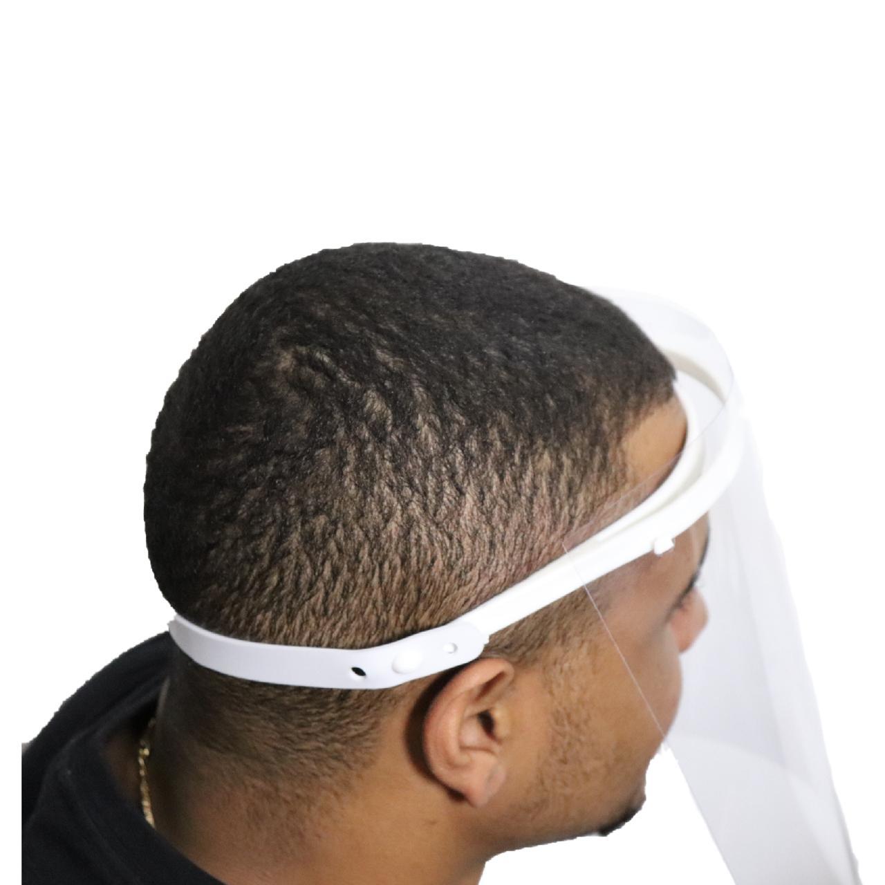 Mascara Viseira Proteção Face Shield Anti Gotículas Regulável