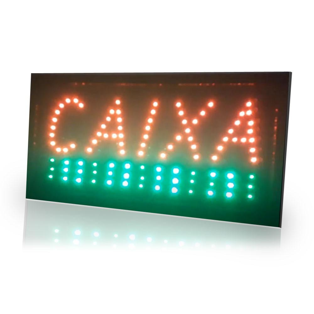 Painel Letreiro Luminoso Led Caixa Le-2003 Lelong Placa Loja