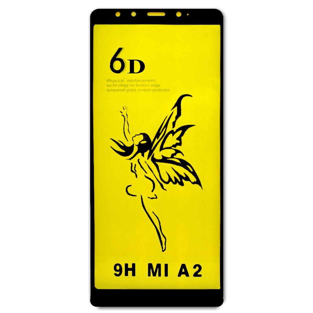Película 5D de Vidro Proteção Para Xiaomi Mi A2 Celular Smartphone