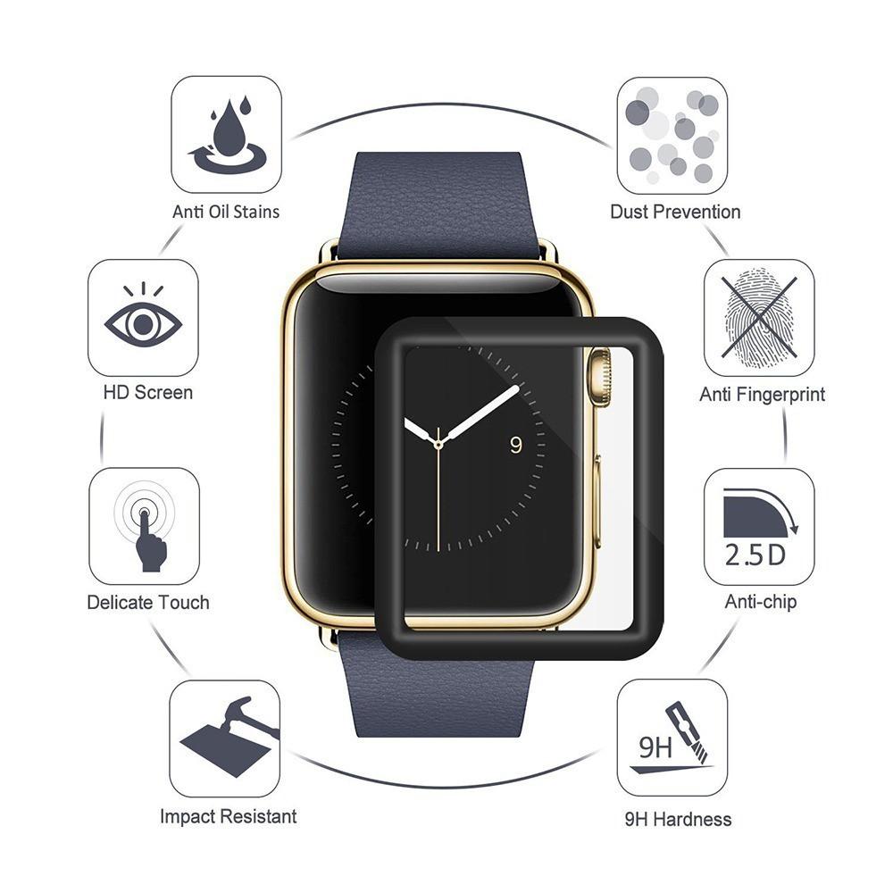 Película 5D nano gel para apple watch 40mm tela inteira