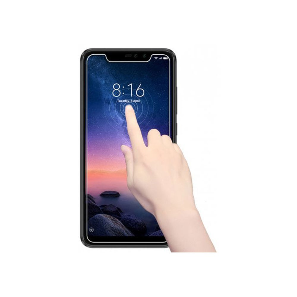 Película de Vidro Proteção Para Celular Smartphone Xiaomi Redmi Note 6 Pro