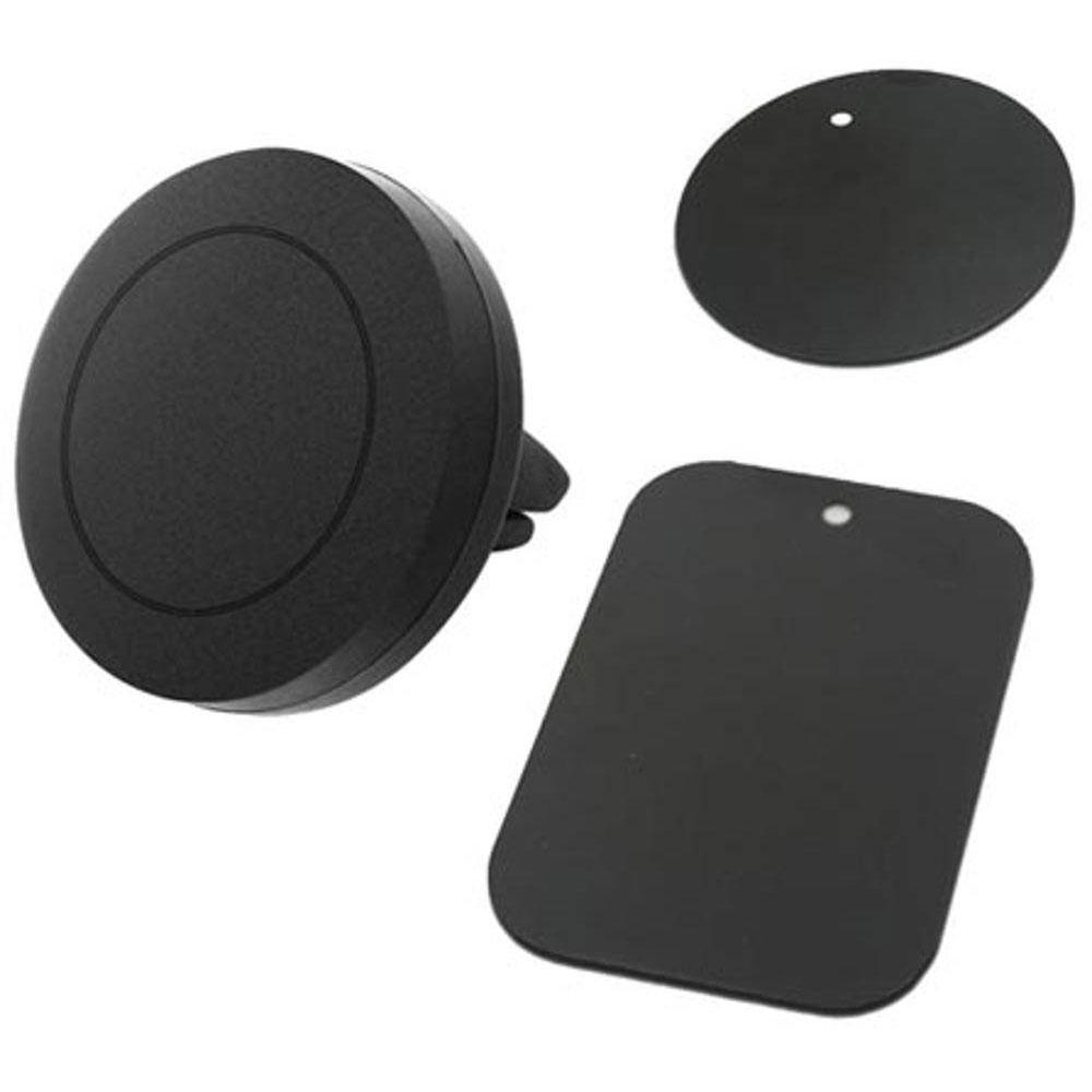 Suporte Celular Veicular de Imã Para Smartphone Gps Tablet Fixação no Ar Condicionado