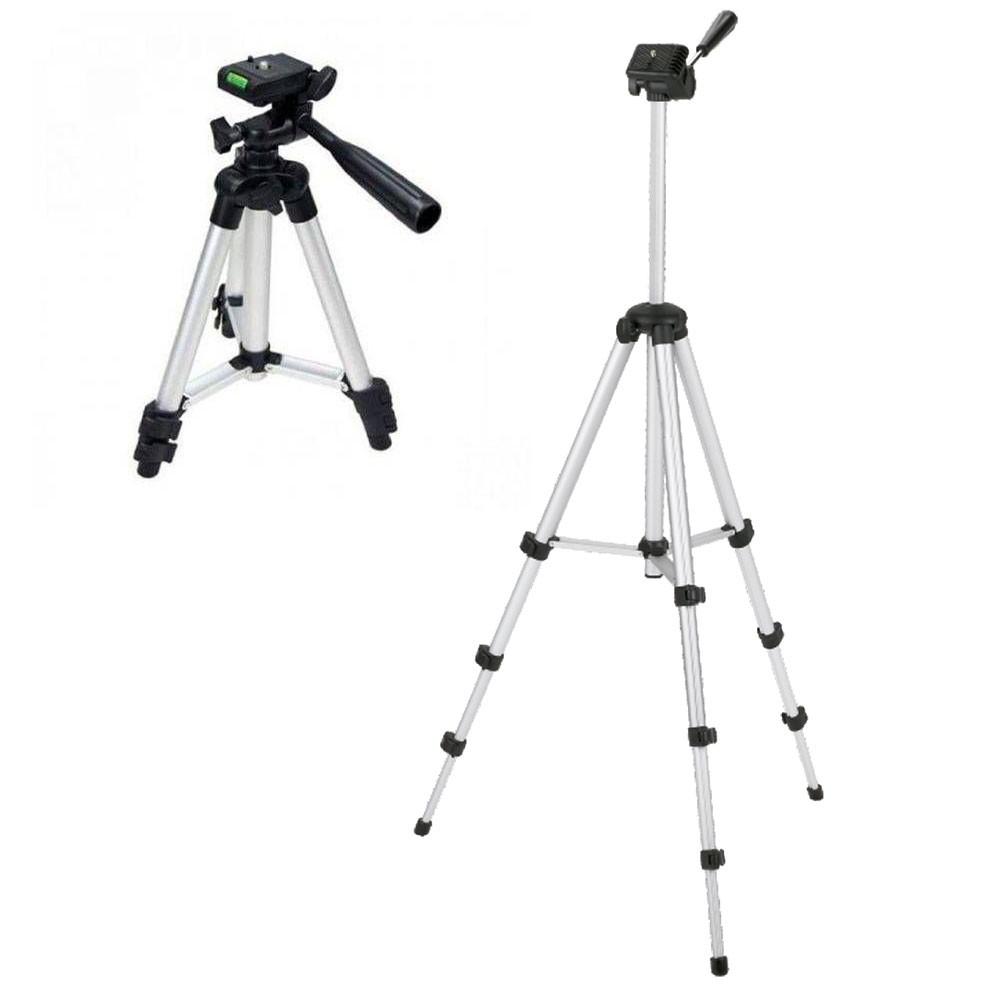 Tripé Tripod Telescópico Alumínio 1,2M MTG-101 Tomate Profissional Para Câmeras Filmadoras
