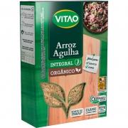 Arroz agulha integral orgânico 500g - Vitao - unidade