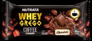 Barra de proteína whey grego bar coffee cream sabor chocolate - Nutrata - unidade