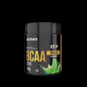 Bcaa 2.1.1 sabor limão 200 g linha star - Nutrata - 01 un