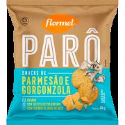 Biscoito parô parmesão e gorgonzola - Flormel - 01 un