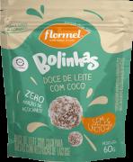 Bolinhas de doce de leite c/ coco zero lactose - Flormel - 01 pouch
