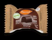 Bombom de chocolate amargo zero vegano - Flormel - un
