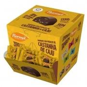 Bombom de chocolate ao leite c/ castanha de caju zero - Flormel - cx c/ 18 un.