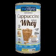 Whey sabor cappuccino linha nature 420 g - Nutrata - 01 un