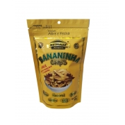 Chips bananinha doce açúcar e canela 55 g - Nutrialle - 01 un