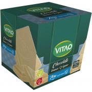 Chocolate branco vegano zero - Vitao - 01 cx c/ 24 un.