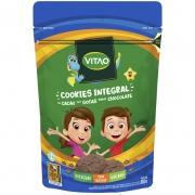 Cookie integral sabor cacau com gotas de chocolate linha kids 80g - Vitao - 01 un