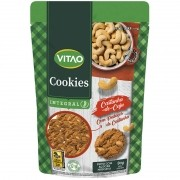 Cookie integral sabor castanha-de-caju 80 g - Vitao - 01 un