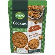 Cookie integral sabor nozes 200 g - Vitao - 01 un