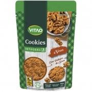 Cookie integral sabor nozes 80 g - Vitao - 01 un