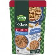 Cookie s/ glúten zero sabor castanhas e linhaça - Vitao - 01 un