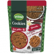 Cookie sem glúten sabor baunilha 150g - Vitao - unidade