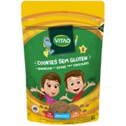 Cookie s/ glúten zero sabor baunilha c/ gotas de chocolate linha kids 80g - Vitao - 01 un