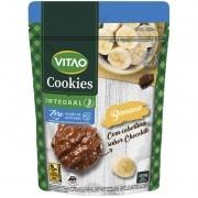 Cookie de banana c/ cobertura de chocolate ao leite zero 150 g - Vitao - 01 un
