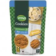 Cookie zero integral sabor banana 80g - Vitao - 01 un