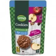 Cookie de maçã c/ canela c/ cobertura de chocolate ao leite zero 80 g - Vitao - 01 un