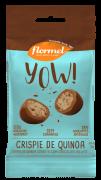 Drageado de chocolate ao leite yow sabor crispie de quinoa - Flormel - un