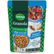 Granola tradicional integral zero sabor castanhas 250 g - Vitao - 01 un
