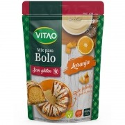 Mix para bolo s/ glúten sabor laranja - Vitao - 01 un