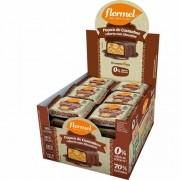 Paçoca de castanhas c/ chocolate zero - Flormel - cx c/ 24 un.