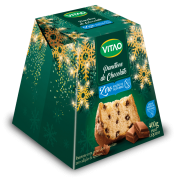 Panetone c/ gotas de chocolate zero - Vitao - 01 un