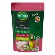 Snack integral s/ glúten sabor peito de peru - Vitao - 01 un