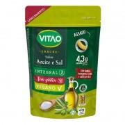 Snack proteico integral s/ glúten sabor azeite e sal - Vitao - 01 un