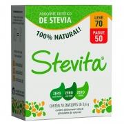 Adoçante stévia Stevita sache - Stevita - 01 cx c/ 50 sachês