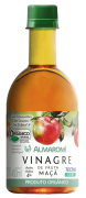 Vinagre de maçã almaromi orgânico 400 ml - almaromi viccino - 01 un